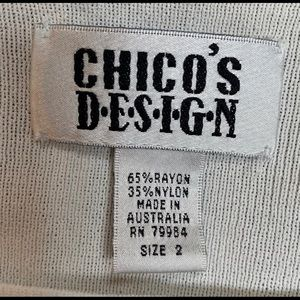 Chico's Tops - Chico's | Design White Long Sleeve Shirt